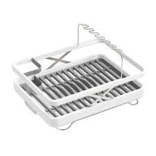 Kohler Hartland Sink Rack White by Kohler Collapsible Lift Dish Drying Rack Basket In White K 8631 0