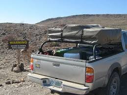 toyota tacoma 1st gen bed rack for roof top tent expedition portal