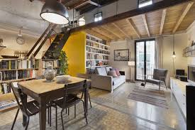 100 Bachlor Apartment A Renovated Modern Attic In Barcelona Small