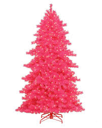 Vickerman Pink Christmas Tree by Unusual Christmas Tree Colors To Brighten Your Holiday