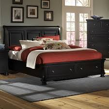 Kira Queen Storage Bed by Vaughan Bassett Reflections Queen Storage Bed With Sleigh