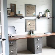 Small Desk Ideas Diy by Small Home Office Hacks And Storage Ideas Diy File Cabinet Desk