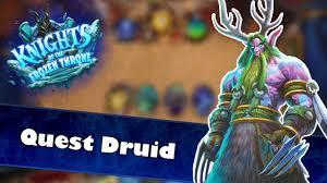 kotft quest druid hearthstone deck spotlight knights of the