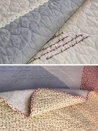 color block embroidery lightweight summer quilt bedding set 2