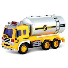 100 Toy Tanker Trucks Eforcity Friction Powered Oil Truck With Lights And