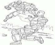 Fighting Iron Man S To Print0c7d Coloring Pages