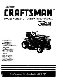 Craftsman Lt2000 Drive Belt Diagram by Sears Craftsman Lawn Mower Model 917 255460 By Glsense Issuu