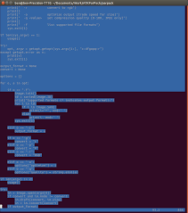 Vim With Non Default Background On Ubuntu Shows Purple Color For Text Space After Scrolling The Screen