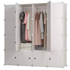 Clothes Closet Multi Best Depot White Wood Target Handles Armoire