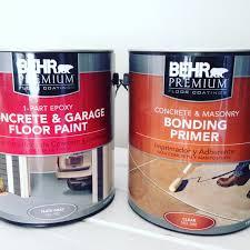Behr Garage Floor Coating by How To Apply Garage Floor Paint Mom In Music City