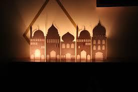 DIY Paper Mosque Lantern Free Printable