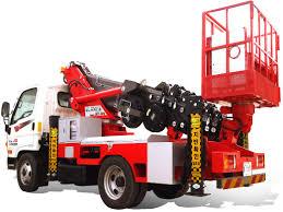 100 Truck Mounted Boom Lift Aerial Lift Truck Tradekorea