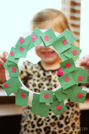Christmas Craft For Kids Make A Paper Plate Wreath The Holidays