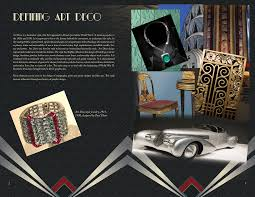 deco typography history gwda207 design history deco booklet on behance