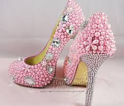 pink wedding shoes ladies bridal high heel pink shoes for