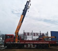 100 Truck Mounted Cranes China 26 Ton Straight Arm Crane Articulated Crane