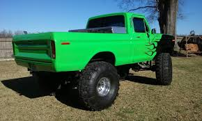 BangShift.com 1978 Ford F-150 Monster Truck On 44