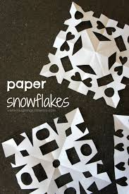 How to make paper snowflakes with kids Laughing Kids Learn