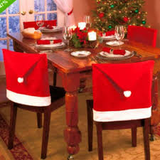 Christmas Decoration Santa Claus Red Hat Chair Back Cover For Home Party  Holiday Christmas Dinner Table Decor Chair Covers For Rent Slipcovers For  ... Little Big Company The Blog Party Submission A Parisian Christmas Chair Foot Cover Santa Claus Table Leg Xmas Decoration Floor Protectors Favor Ooa7351 5 Favors For Wedding Reception Coalbc Hickory Twig End Tables Designers Tips Comfort Design Minotti Gaeb Suar Wood Coffee Small Bedroom Ideas To Make The Most Of Your Space Beetle With Farbic And Brass Base Non Woven Fabric Hat Chairs Case Holidays Home Deco Rra2013 Ding Slipcovers Aris Folding Set Mynd Fniture Online Singapore Sg