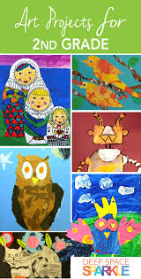 100 Art Projects For Second Grade Students Project Ideas And Lesson Plans Include