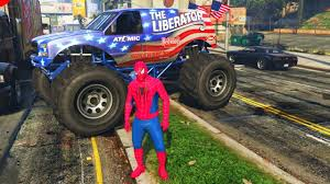 100 Spiderman Monster Truck Spider Man And Car YouTube