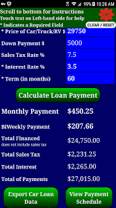 Amazon.com: Auto Car Truck RV Loan Payment Calculator Pro: Appstore ... Truck Lot River City Ford In Winnipeg Mb Prestige Financial Bombay Club Anaheim Electronic Road Toll Wabers And Icell To Continue Professional Internet Shopping Process Shop Building With Awning Online Mobile Loan Calculator Monthly Commercial Pickup Full Sized Smart Svicedelivery By And Pay Epayment Vector Manage Your Auto Account Make A Vehicle Payment Ally Up Transport Tax Pay Youtube Commercial Truck Payment Calculator Project No F150online Forums Lift Now Later With Affirms Easy Plans Readylift