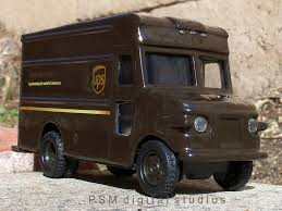 100 Ups Truck Toy UPS Delivery Van This Is Another Promotional Van I Was Giv