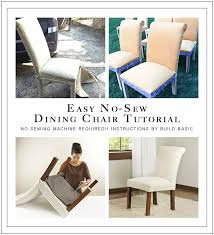 Dining Chair Transformation Without A Sewing Machine Build Basic