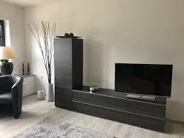 tv board anbauwand unikat vom tischler individuell und modern