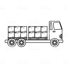 100 Motor Truck Cargo Delivery Stock Illustration Download Image Now