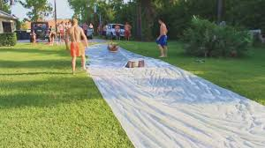 Slip N Slide- Kicker Ramp Fun - YouTube More Accurate Names For The Slip N Slide Huffpost N Kicker Ramp Fun Youtube Triyaecom Huge Backyard Various Design Inspiration Shaving Cream And Lehigh Valley Family Just Shy Of A Y Pool Turned Slip Slide Backyard Racing With Giant 2010 Hd Free Images Villa Vacation Amusement Park Swimming 25 Unique Ideas On Pinterest In My Kids Cided To Set Up Rebrncom Crazy Backyard Slip Slide
