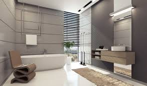 Mesmerizing Bathroom Decorating Ideas For Big House Apartment Design With Grey White Brown Color Scheme