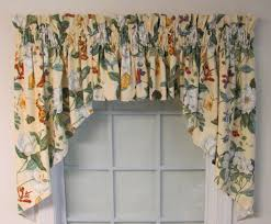 Jacobean Style Floral Curtains by Valances Swags U0026 Window Toppers Thecurtainshop Com