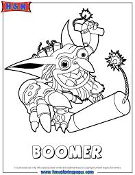 Skylanders Spyros Adventure Tech Boomer Coloring Page