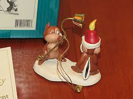Plutos Christmas Tree Ornament by Wdcc Little Mischief Makers Ornament Chip U0027n Dale Pluto U0027s