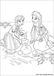 Kids Coloring Disney Frozen Pages Pdf For On Book