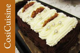 hervé cuisine buche marron recette bûche aux marrons chocolat et praliné croustillant