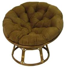 Pier One Papasan Chair Weight Limit by Amazon Com Rattan Papasan Chair With Cushion Kitchen U0026 Dining