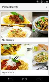 pasta rezepte for android apk