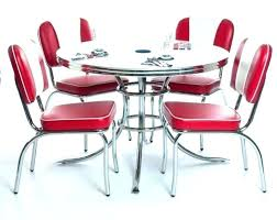 Retro Dining Set Decent Room Sets Dinette