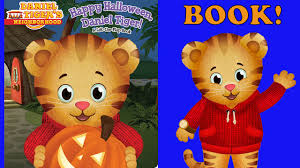 Halloween Picture Books Online by Daniel The Tiger Halloween Book For Children
