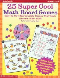 25 Super Cool Math Board Games Easy To Play Reproducible That Teach