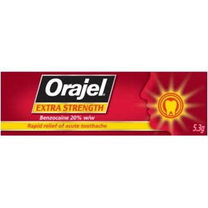 Orajel Extra Strength Dental Gel