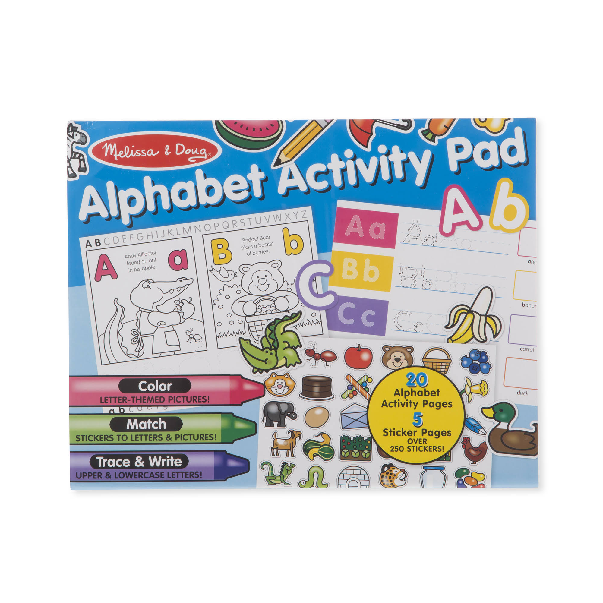 Melissa & Doug - Alphabet Activity Pad