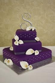 Wedding Cakes Simple Wedding Cakes Purple Simple Wedding Cakes