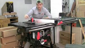 sawstop contractor saw product tour youtube