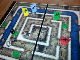 Dungeon Race Is A Fast Paced Simple Board Game Kids Can Have Fun Imagining Themselves Racing Along Corridors Discovering Treasure Chests