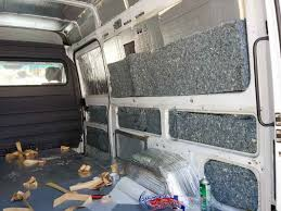 Insulating A Sprinter Camper Van Conversion