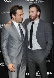 Chris Evans And Sebastian Stan Photos