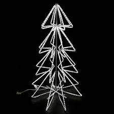 2 LED Rope Light Christmas Tree Motifs 2X Cool White